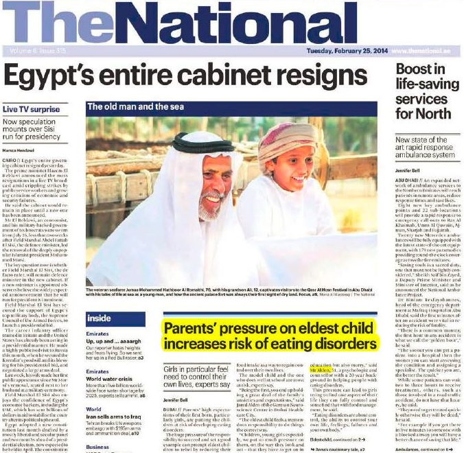 The National: Eating Disorders in Dubai: Anna's story