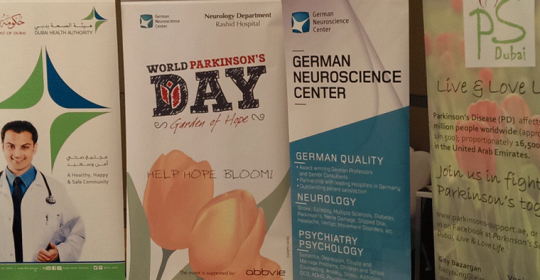 World Parkinson Day Dubai 2015 – Exceeded all expectations
