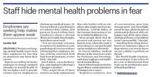 mental health dubai