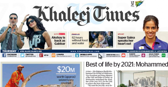 Phones stealing away your kids? – Khaleej Times feat. GNC Counsellor Jared