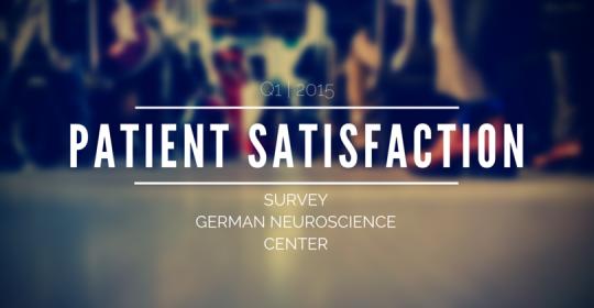 Patient Satisfaction Survey 2015