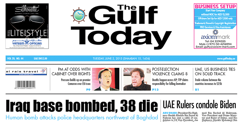 Counterfeit drugs in the UAE - GulfToday feat  Dr  Jacobs