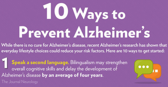 How To Prevent Alzheimer's in Dubai | Great Infographic