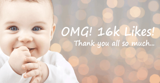 OMG! 16,000 Facebook Likes | Thank you!