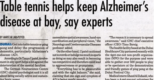World Alzheimer's Day | The charity event in Dubai was a huge success