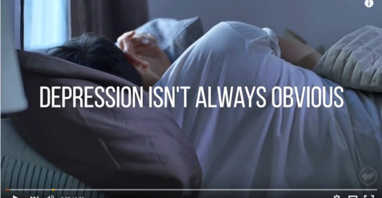 Surprising Video shows: Depression isn't always obvious