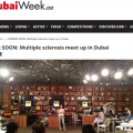 multiple sclerosis dubai week