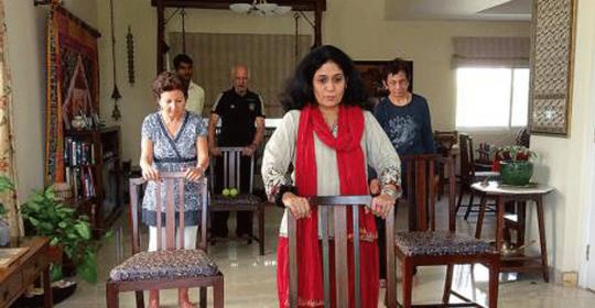 Care to dance? Dubai woman dares Parkinson's patients