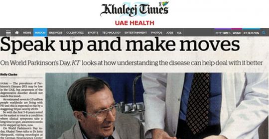 Parkinson's Disease: Speak up and make moves