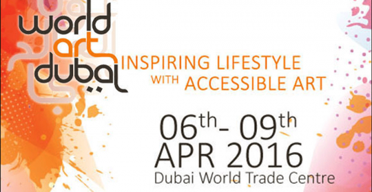 TODAY: Dr. Matser (GNC) speaks at World Art Dubai