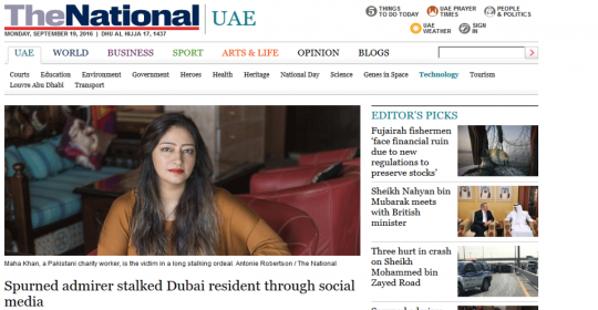 The Psychology of Stalking in Dubai