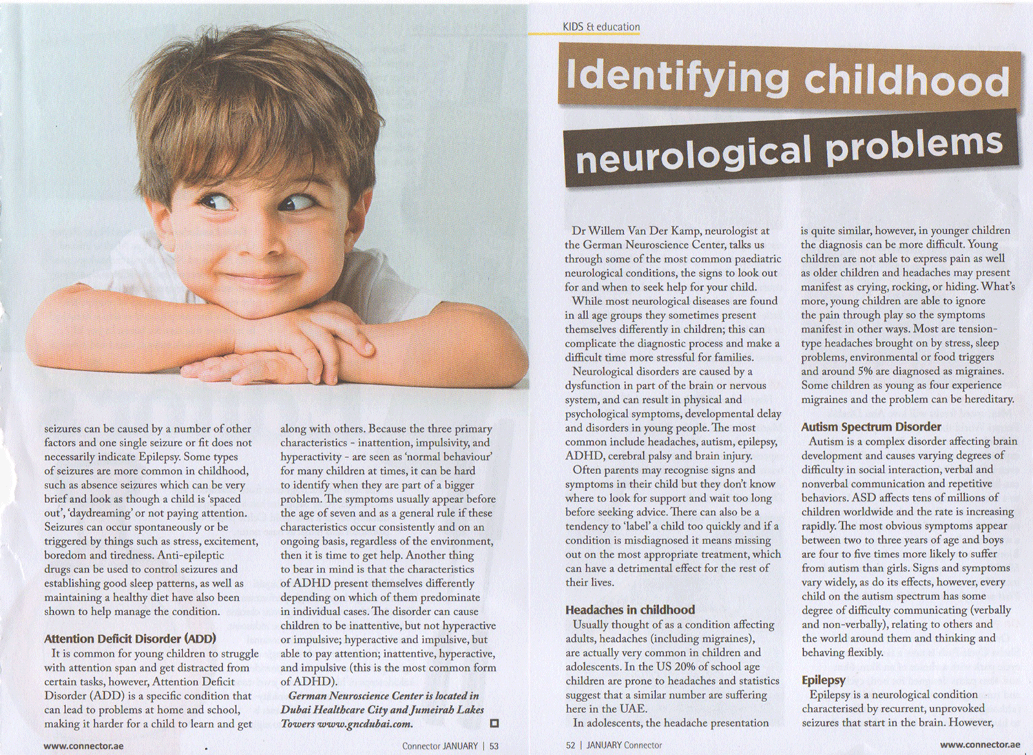 child neurology connector dubai