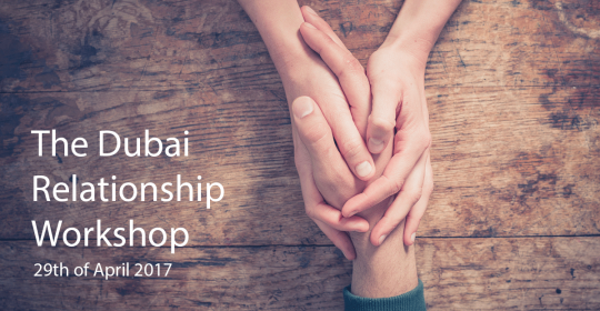 The Dubai Relationship Workshop, April 2017 – Dr Kennon Rider