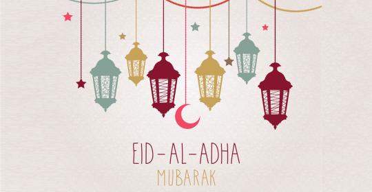 Eid Mubarak – Eid Al Adha 2019