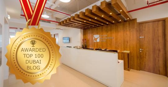 "GNC blog awarded ""Top 100 Dubai Blogs and Websites on the Web"""