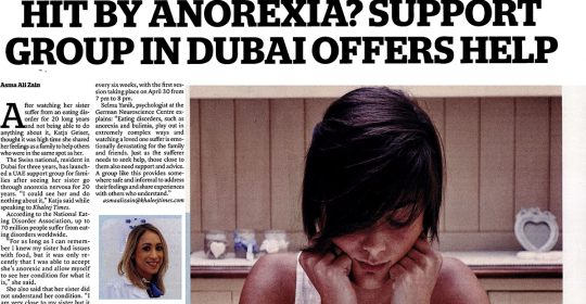 Eating Disorder Support Group In Dubai – Khaleej Times