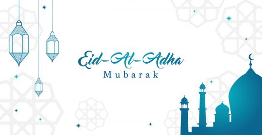 Eid Mubarak – Eid Al Adha 2018