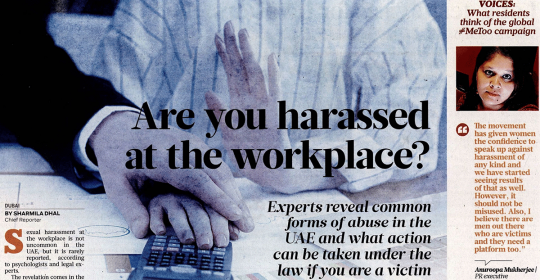 Workplace Harassment In The UAE – Dr. Fabian Explains The Psychology Behind It – Gulf News