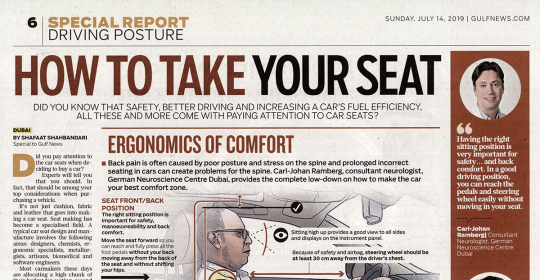 Car seats: Are they important? – Neurologist, Dr. Ramberg speaks to Gulf News