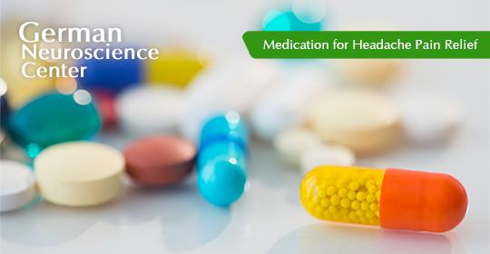 Headache Medicine: Medication for Headache Pain Relief