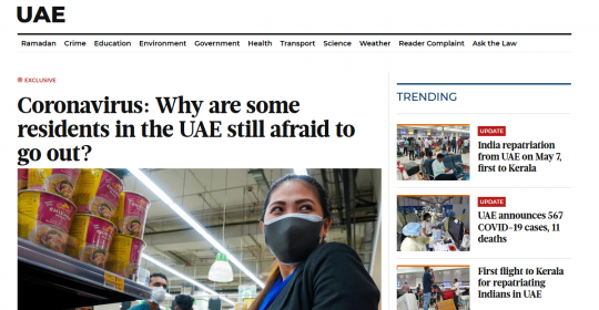 Coronavirus: Why are some residents in the UAE still afraid to go out? Dubai Psychologist, Dr. Fabian, in Gulf News