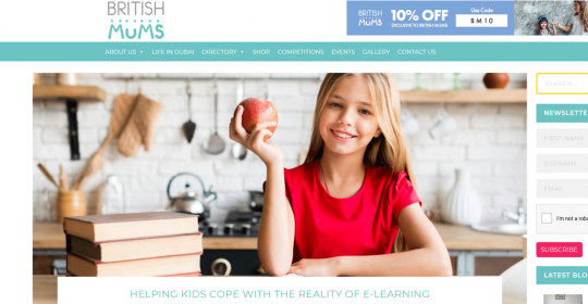 Helping kids cope with the reality of e-learning – Dubai Psychologist, Kim Henderson, feat. In British Mums